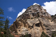 Lato della montagna fotografie stock libere da diritti