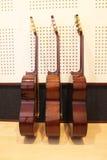 Lato delle chitarre classiche Immagine Stock Libera da Diritti