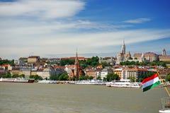 Lato di Buda di Budapest Immagine Stock