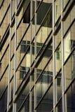 Lato di costruzione urbana. Fotografia Stock