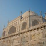 Lato di Taj Mahal ad angolo Fotografia Stock