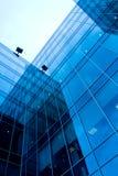 Lato di vetro astratto Fotografie Stock