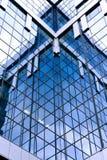 Lato di vetro astratto Fotografia Stock