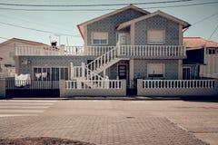 Lato dom przy nadmorski obrazy stock