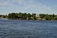 lato domowy nabrzeże Zdjęcia Royalty Free