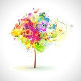 lato drzewo ilustracja wektor