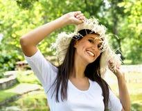 Lato dziewczyna Fotografia Stock