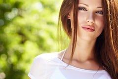 Lato dziewczyny portret obraz stock