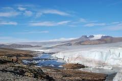 Lato est del ghiacciaio dell'aeronautica Fotografia Stock