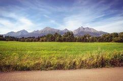 Lato góry krajobraz Fotografia Royalty Free