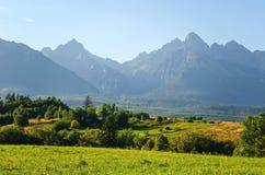 Lato góry krajobraz Obrazy Royalty Free
