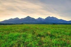 Lato góry krajobraz Zdjęcie Stock