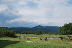 Lato góry krajobraz Obraz Royalty Free