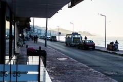 Lato Grodzkie ulicy W kraju Turcja Fotografia Royalty Free