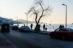 Lato Grodzkie ulicy W kraju Turcja Zdjęcie Royalty Free