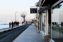 Lato Grodzkie ulicy W kraju Turcja Obraz Stock
