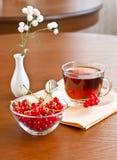 lato herbata fotografia stock