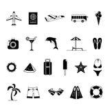 Lato ikony z Białym tłem Fotografia Stock