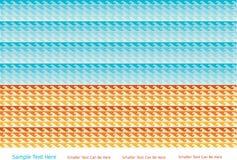 Lato ilustracja morze i plaża Obrazy Stock