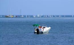 Lato jachtu wakacje zdjęcia royalty free