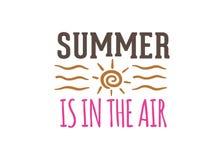 lato jest w lotniczym wycena druku projekta szablonie Obrazy Royalty Free