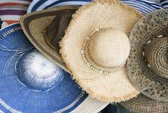 Lato kapelusze Zdjęcie Stock