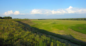 Lato krajobraz - łąka Fotografia Stock