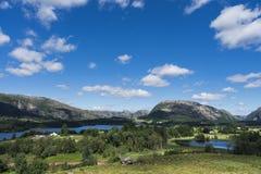 Lato krajobraz Norwegia Obrazy Stock
