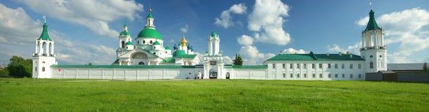 Lato krajobraz w Rostov Veliky Fotografia Royalty Free