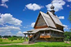 Lato krajobraz w Suzdal Fotografia Royalty Free