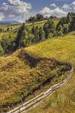 Lato kraju krajobraz Zdjęcie Royalty Free
