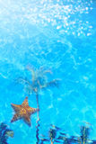 Lato kurortu plaża fotografia stock