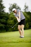 lato kursowa golfowa bawić się kobieta Zdjęcie Royalty Free