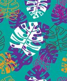 Lato kwiecisty tropikalny wzór szczegółowy rysunek kwiecisty pochodzenie wektora zdjęcia royalty free