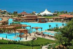 Lato luksusowy kurort, Antalya, Turcja Obraz Royalty Free