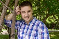 Lato Młody człowiek zdjęcie stock