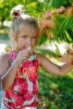 Lato mała dziewczynka Zdjęcie Royalty Free