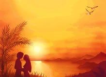 Lato miłość Zdjęcia Royalty Free