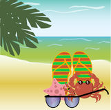 Lato, morze, plaża Obrazy Stock