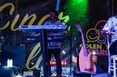 Lato muzyki ludowa festiwal Zdjęcia Royalty Free