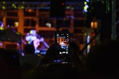 Lato muzyki ludowa festiwal Zdjęcie Royalty Free