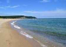 Lato na Czarnym morzu Obrazy Royalty Free