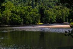 Lato na Delaware Easton Rzecznym Pa Fotografia Royalty Free