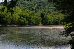 Lato na Delaware Easton Rzecznym Pa Zdjęcie Royalty Free