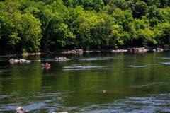 Lato na Delaware Easton Rzecznym Pa Zdjęcia Royalty Free