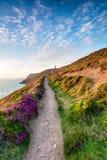 Lato na Kornwalijskim wybrzeżu Fotografia Royalty Free