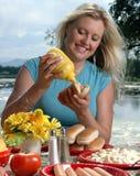 lato na piknik zdjęcia royalty free
