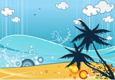 lato na plaży Zdjęcia Royalty Free