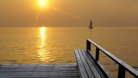 Lato na plaży fotografia stock
