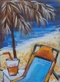 lato na plaży Zdjęcia Stock
